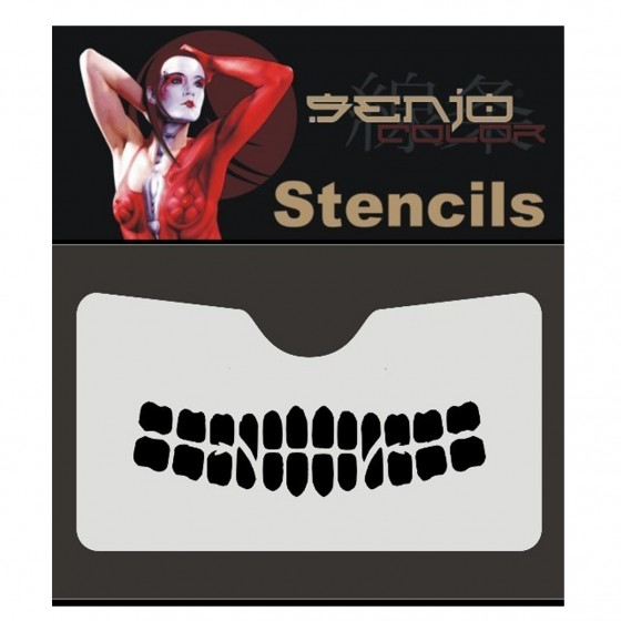 Stencil Teeth