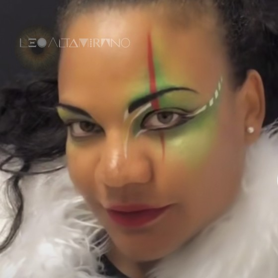 Parties and carnivals make-up