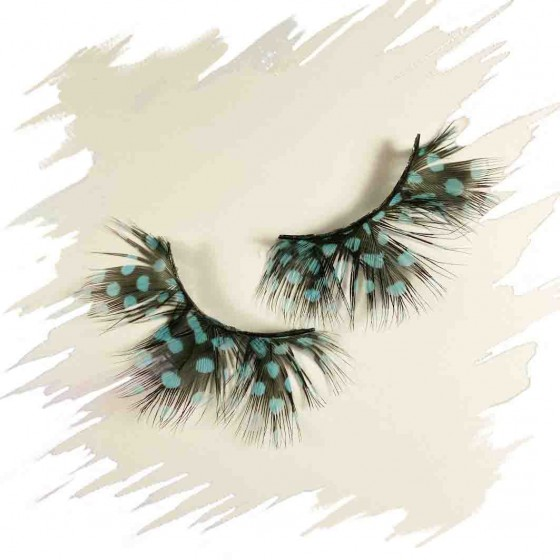Fantasy speckled feathers Eyelashes