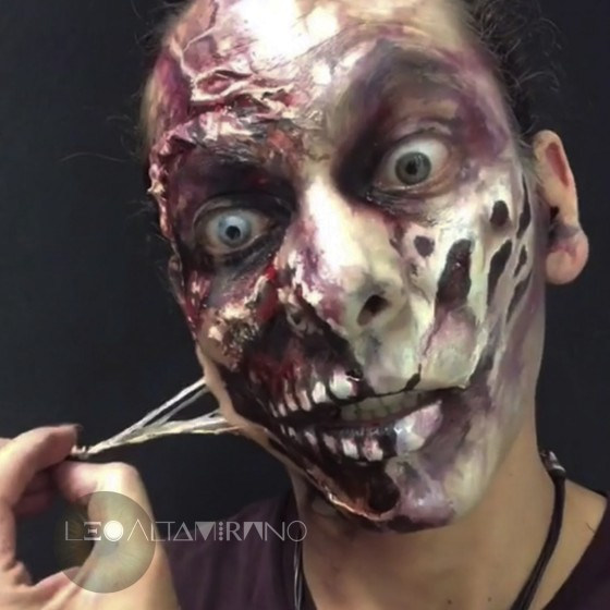 Intensive Summer Course, FX Makeup Special Effects.