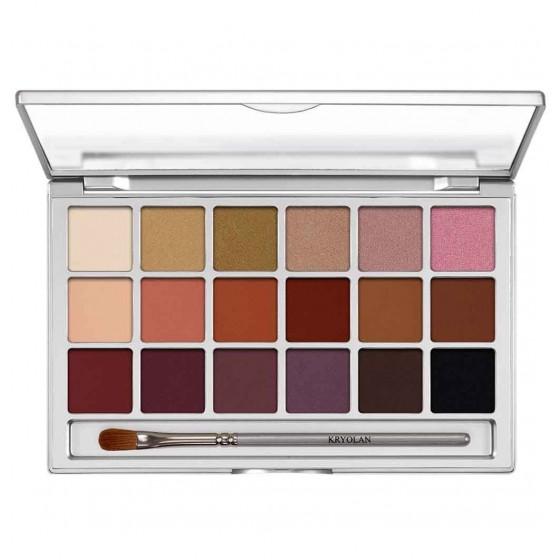 Eye shadow variety palette...