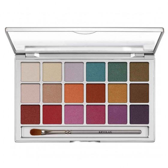 Eye shadow variety palette...