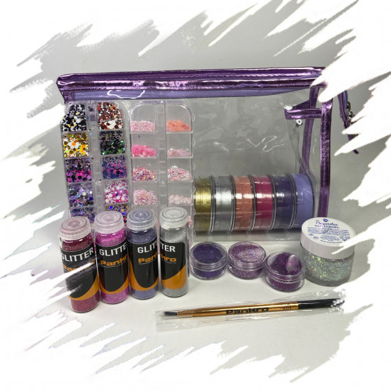 Kit Glitter addiction
