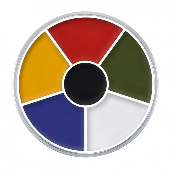 Cream color circle...
