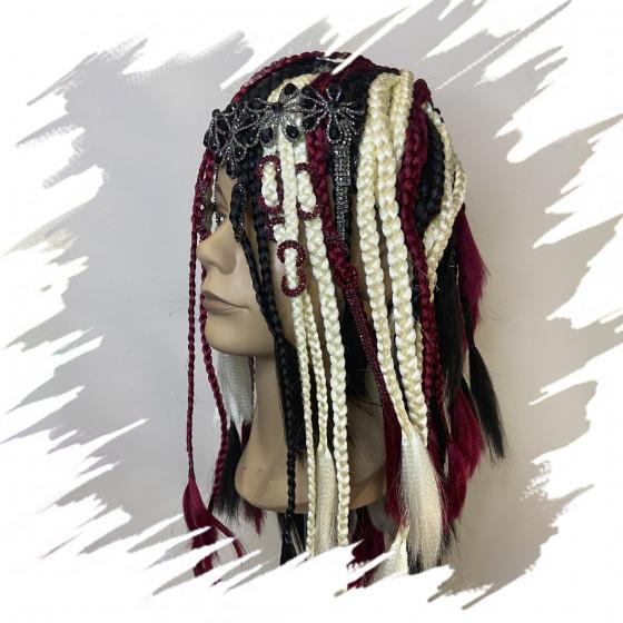 Glam braided wig