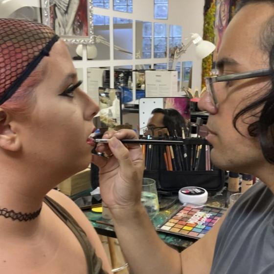 Auto-make-up Workshops.
