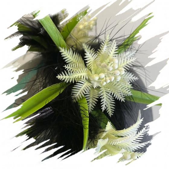 Diadema Flores blancas