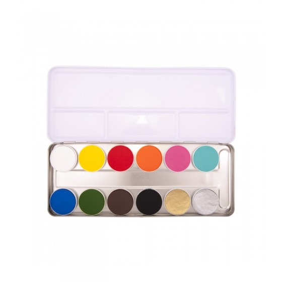Aqua Paint Pankro Set 12 Shades