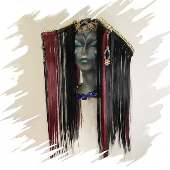 Kibuko  Headband - Fascinator