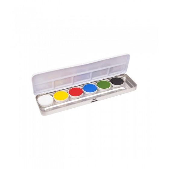 Aqua Paint Pankro Set 6 Shades