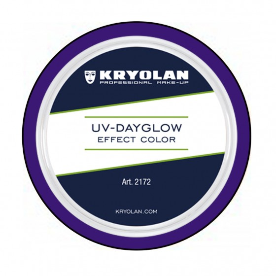UV Dayglow effect color Kryolan 15ml.