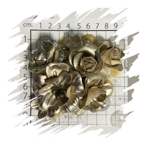 Pezoneras Flores Doradas, Aplicación Latex