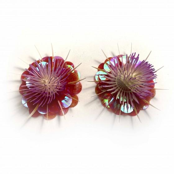 Pezoneras Coral flor,...