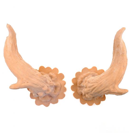 Deer Horns, Latex Application