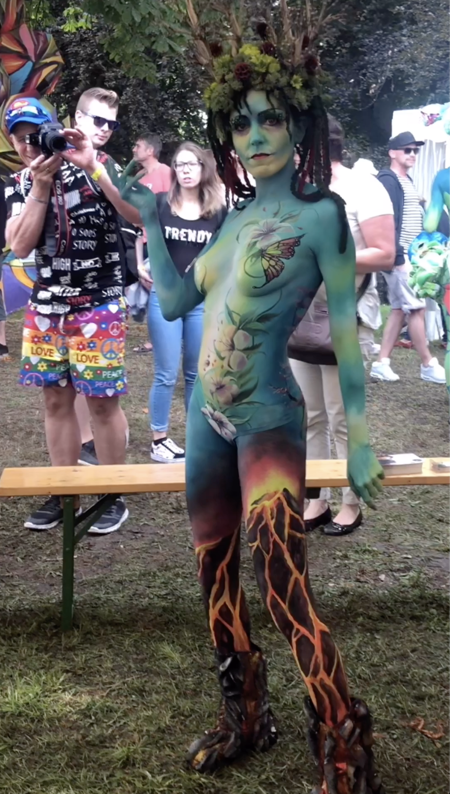 World Body Painting Festival, Klagenfurt Austria