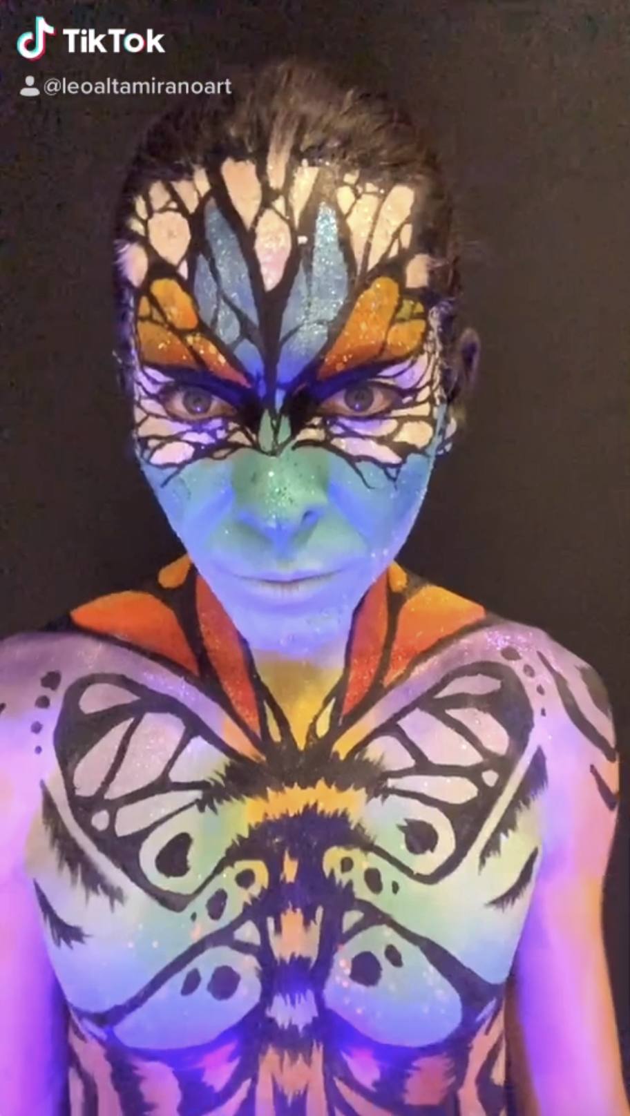 Tik Tok Videos From Body Painting Barcelona